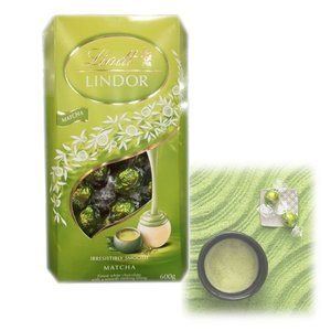 costco コストコ Lindt LINDOR リンツ リンドール 抹茶 チョコレート 大容量 6...