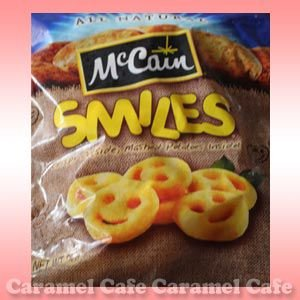 送料無料 クール冷凍便 McCain マッケイン スマイルポテト 2kg フレンチポテト お弁当 アンパンマン|caramelcafe