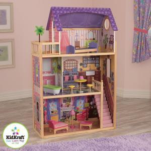 送料無料 kidkraft kayla dollhouse 木製ドールハウス アメリア キッド