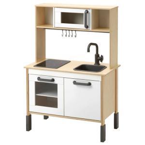 イケア IKEA DUKTIG ドゥクティグ ミニキッチン 上部+下部 おままごと