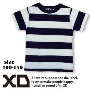 XD エックスディー Border T 100-150  (CONVEX) 18ss 【ネコポスOK・ゆうパケットOK】|caramelmama
