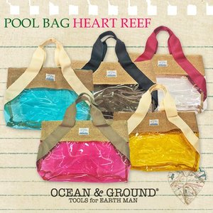 Ocean&Ground オーシャンアンドグラウンド プールバッグ HEART REEF|caramelmama