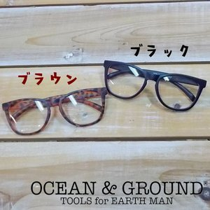 Ocean&Ground オーシャンアンドグラウンド キッズダテメガネ 18ss|caramelmama