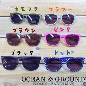 Ocean&Ground オーシャンアンドグラウンド キッズサングラス 18ss|caramelmama
