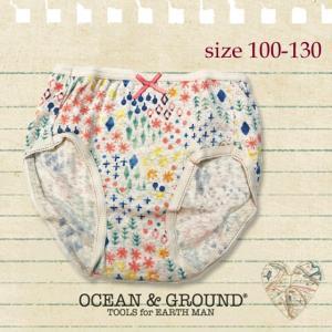 ネコポスOK/Ocean&Ground オーシャンアンドグラウンド ショーツ Happy Ornament 100-130 18aw(返品・交換不可) caramelmama