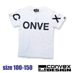 CONVEX コンベックス オーバーロゴT 100-150 18ss 【ネコポスOK・ゆうパケットOK】|caramelmama