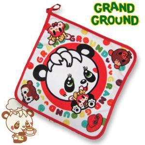 Grand Ground グラグラムゥ〜 レトロドットループタオル 17ss|caramelmama