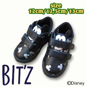 【40%OFF SALE】Bit'z ビッツ DY Mickeyファーストシューズ 12cm/12,5cm/13cm 17aw|caramelmama