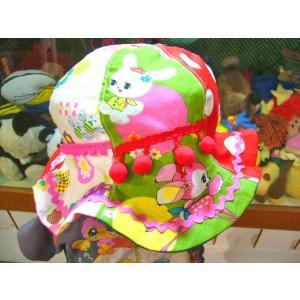 cheap CANDEE チープキャンディ♪GRドットアニマル&ネオンてんとう虫チューリップハット キッズサイズ46-56cm|caramelmama