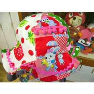 cheap CANDEE チープキャンディ♪いちご&アニマルチューリップハット キッズサイズ46-56cm|caramelmama