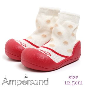 【18aw】ampersand アンパサンド ソックスブーティ 12,5cm【宅配便配送】|caramelmama
