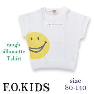FOキッズ エフオーキッズ ラフシルエットTシャツ 80-140 18ss|caramelmama