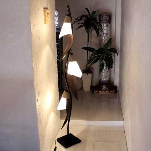 パームリーフ アジアンリゾート風 ライト 照明 フロアスタンドライト H160cm caran2