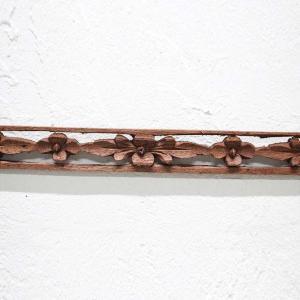 レリーフ アジアン 彫刻 3×99cm バリ風 壁飾り インテリア|caran2