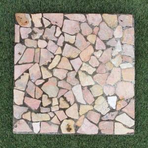 踏み石 飛び石 ステップ ガーデン ストーン 庭石 コンクリート 四角40cm|caran2