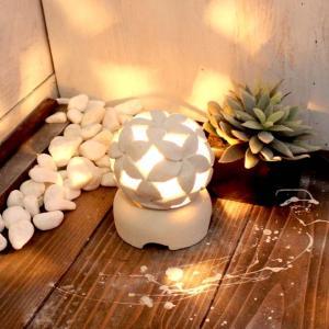 ミニ灯篭 石像 ライト 照明 H12 バリ風 アジアン インテリア|caran2