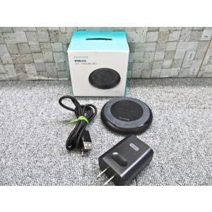 RAVPOWER WIRELESS チャージパット 本体、電源コンセント RP-PC058モデル 対...