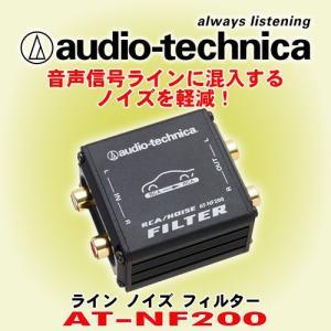 カーオーディオの信号ラインに混入するノイズを効果的に低減します。
