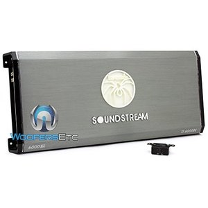 Soundstream T1.6000DL 6000 W Max Monoblock Class D Amplifier