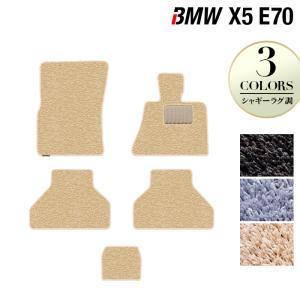 BMW X5 (E70)  フロアマット / シャギーラグ調 HOTFIELD