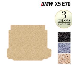 BMW X5 (E70)  トランクマット 車 マット カーマット シャギーラグ調 送料無料