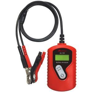 バッテリー テスター 12V 診断内容:CCA値・CA値・mΩ バッテリー状態 充電容量表示 大自工...