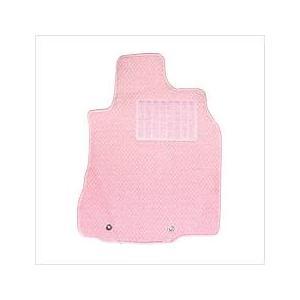 送料無料 キュートなピンクの フロアマット アルトラパン 年式H20/11〜27/6 フラワーピンク...
