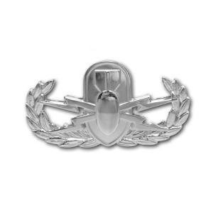 アメリカ陸軍 技能章 - 爆発物処理章 サービスドレス胸用 米軍 ミリタリーバッジ|card-museum