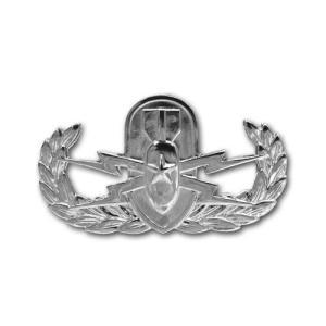 アメリカ陸軍 技能章 - 爆発物処理 シニア章 サービスドレス胸用 米軍 ミリタリーバッジ|card-museum