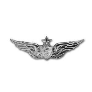 アメリカ陸軍 技能章 - 飛行外科医 シニア章 サービスドレス胸用 米軍 ミリタリーバッジ|card-museum