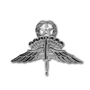 アメリカ陸軍 技能章 - HALOパラシュート降下 マスター章 サービスドレス胸用 米軍 ミリタリーバッジ|card-museum