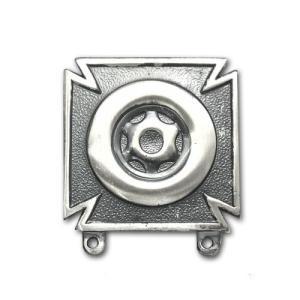 アメリカ陸軍 技能章 - ドライバーとメカニック資格章 - いぶし銀仕上 サービスドレス胸用 米軍 ミリタリーバッジ|card-museum