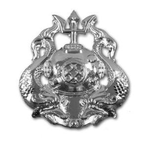 アメリカ陸軍 技能章 - ダイバー マスター章 サービスドレス胸用 米軍 ミリタリーバッジ|card-museum