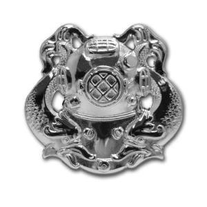 アメリカ陸軍 技能章 - ダイバー ファーストクラス章 サービスドレス胸用 米軍 ミリタリーバッジ|card-museum