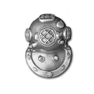 アメリカ陸軍 技能章 - ダイバー セカンドクラス章 - いぶし銀仕上 サービスドレス胸用 米軍 ミリタリーバッジ|card-museum