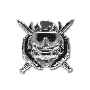 アメリカ陸軍 技能章 - 特殊作戦ダイバー章 サービスドレス胸用 米軍 ミリタリーバッジ|card-museum
