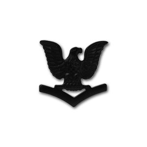 アメリカ海軍 下士官 階級章 - 3等兵曹 E-4 戦闘服用 米軍 ミリタリーバッジ card-museum