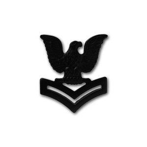 アメリカ海軍 下士官 階級章 - 2等兵曹 E-5 戦闘服用 米軍 ミリタリーバッジ card-museum