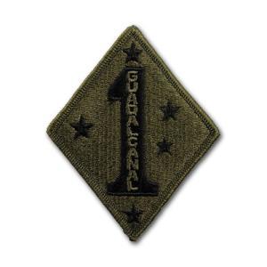 アメリカ海兵隊 肩パッチ 第1海兵師団(サブドュード)【縫付タイプ】|card-museum