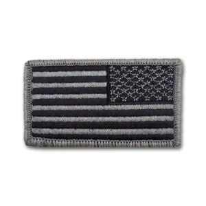 アメリカ国旗 - ACU右肩用 リバースパッチ【ベルクロタイプ】|card-museum