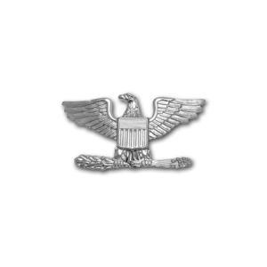 アメリカ軍 士官 階級章 - 大佐 O-6 帽子用 米軍 ミリタリーバッジ|card-museum