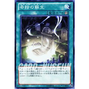 遊戯王カード 奇跡の蘇生 / デュエリスト・エディションVol.1(DE01) / シングルカード|card-museum
