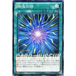 遊戯王カード 縮退回路 / デュエリスト・エディションVol.1(DE01) / シングルカード|card-museum