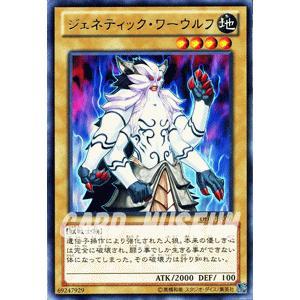遊戯王カード ジェネティック・ワーウルフ (レア) / デュエリスト・エディションVol.1(DE01) / シングルカード|card-museum