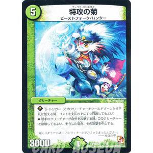 デュエルマスターズ 特攻の菊(デッキ限定)/DMD03/爆裂ダッシュ/デュエマ|card-museum