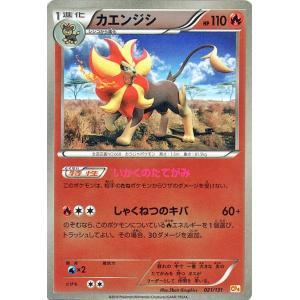 ポケモンカードゲームXY カエンジシ(キラ仕様) / プレミアムチャンピオンパック「EX×M×BREAK」(PMCP4)/シングルカード|card-museum