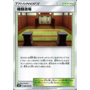 ポケモンカードゲーム SM10 ダブルブレイズ 格闘道場 U | ポケカ 拡張パック スタジアム トレーナーズカード|card-museum