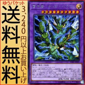 遊戯王カード 雷神龍−サンダー・ドラゴン(シークレットレア) ソウル・フュージョン(SOFU) | 融合 光属性 雷族|card-museum