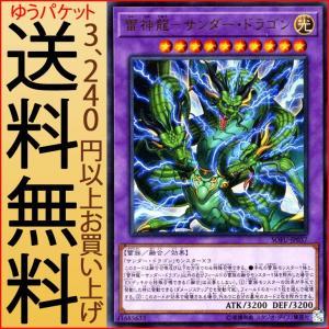 遊戯王カード 雷神龍−サンダー・ドラゴン(ウルトラレア) ソウル・フュージョン(SOFU) | 融合 光属性 雷族|card-museum