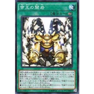 遊戯王 真帝王降臨 帝王の開岩 SR01|card-museum
